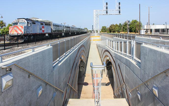 Caltrain Santa Clara Station Puc Ext